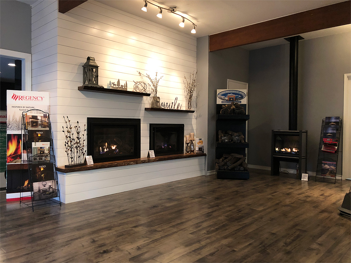 Active Enterprises Fireplace Showroom